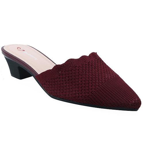 Shuberry SB-19052 Fabric Maroon Sandal For Women & Girls