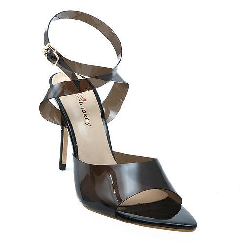 Shuberry SB-19026 Synthetic Black Heels For Women & Girls