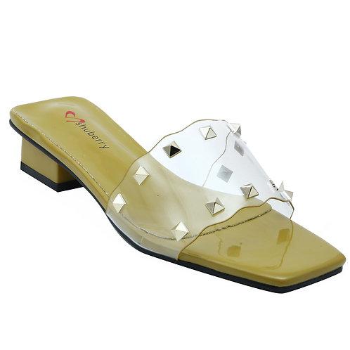 Shuberry SB-19014 Patent Green Sandal For Women & Girls