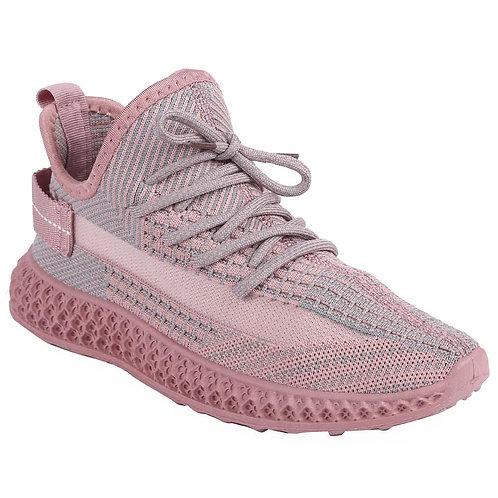 Shuberry SB-19063 Fabric Pink Sneaker For Women & Girls