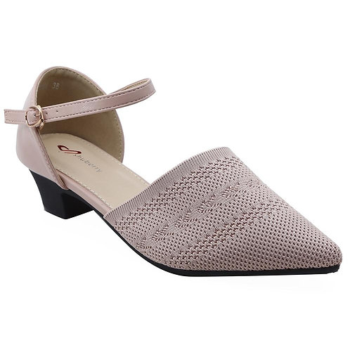 Shuberry SB-19054 Fabric Peach Sandal For Women & Girls