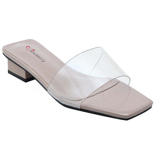 Shuberry SB-19013 Patent Khaki Sandal For Women & Girls