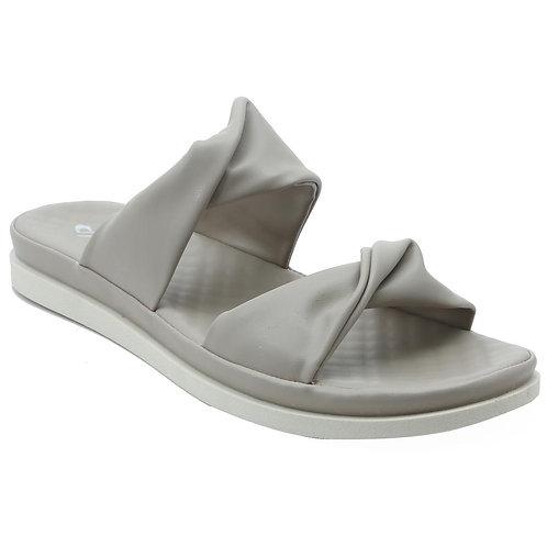 Shuberry SB-19074 Faux Leather Khaki Sandal For Women & Girls