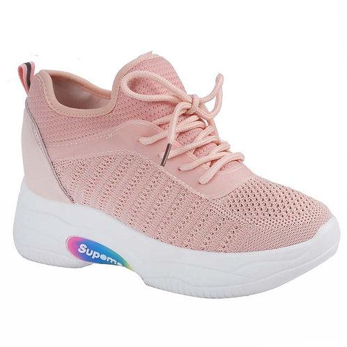 Shuberry SB-19066 Mesh Pink Sneaker For Women & Girls
