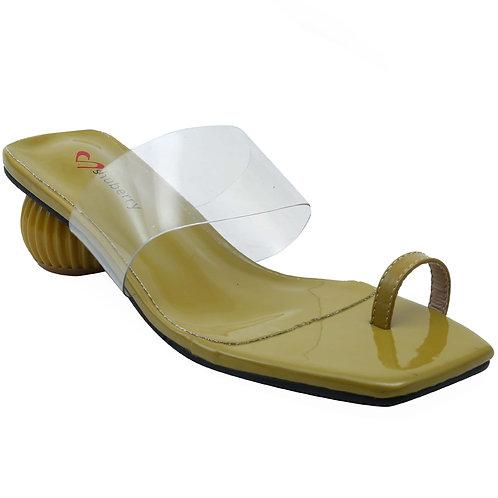Shuberry SB-19012 Patent Green Sandal For Women & Girls