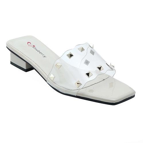 Shuberry SB-19014 Patent Beige Sandal For Women & Girls