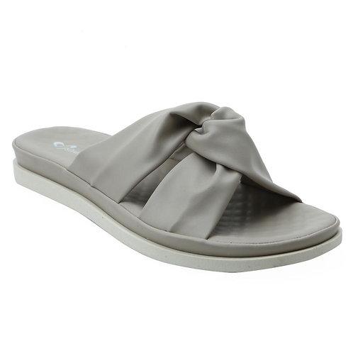 Shuberry SB-19073 Faux Leather Khaki Sandal For Women & Girls
