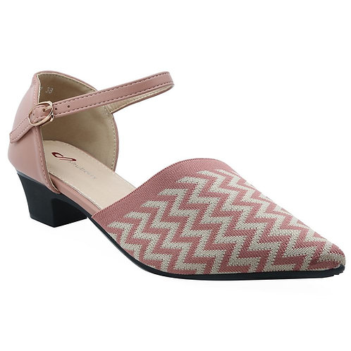 Shuberry SB-19057 Synthetic Pink Sandal For Women & Girls