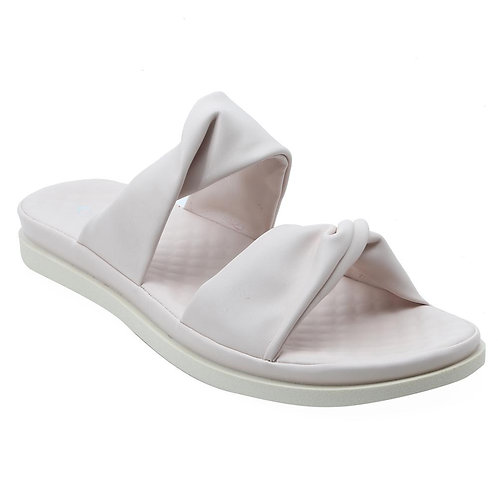 Shuberry SB-19074 Faux Leather Beige Sandal For Women & Girls