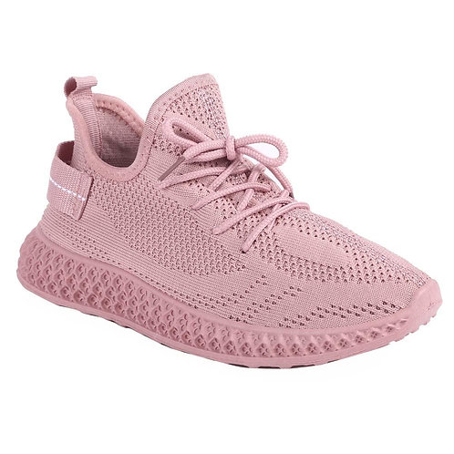 Shuberry SB-19061 Fabric Pink Sneaker For Women & Girls