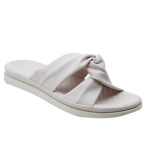 Shuberry SB-19073 Faux Leather Beige Sandal For Women & Girls
