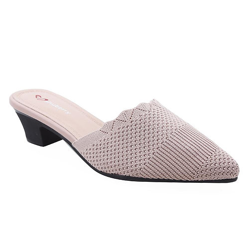 Shuberry SB-19052 Fabric Peach Sandal For Women & Girls