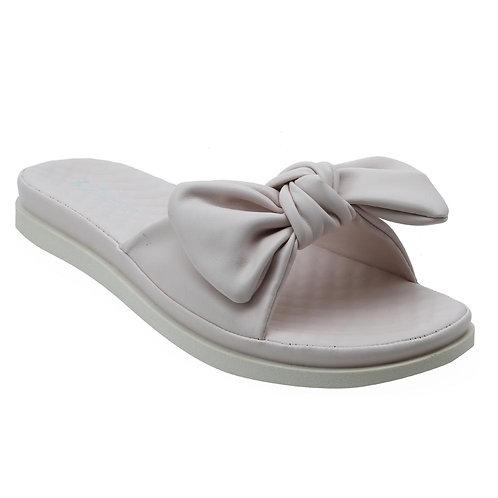 Shuberry SB-19076 Faux Leather Beige Sandal For Women & Girls