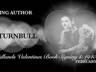 West Midlands Valentine Book Signing Attending Author: Chris Turnbull Interview