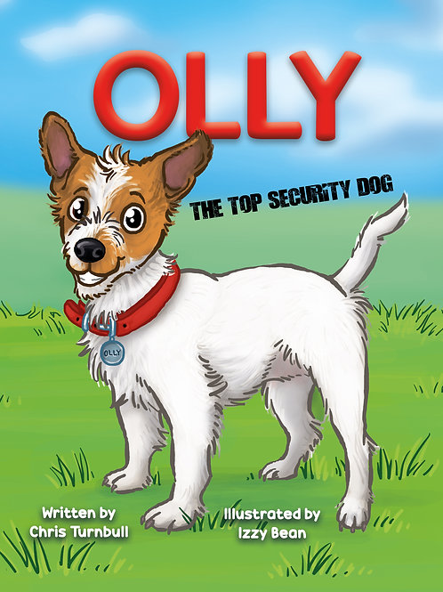Olly The Top Security Dog