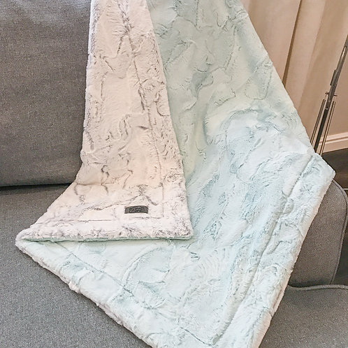 Double Plush Blanket - Custom Colors