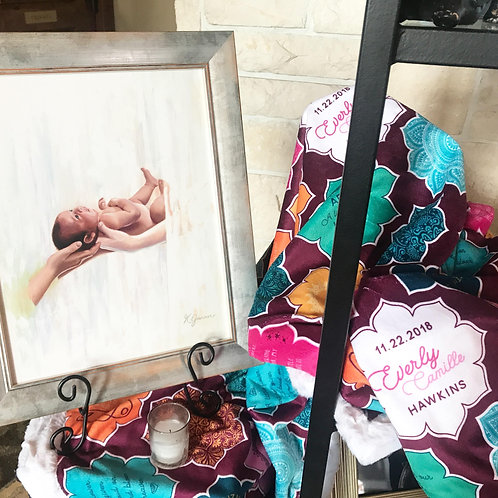 Angel Baby (Stillborn) Memorial Blanket