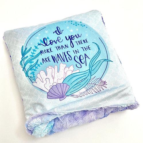 Double Plush Pillow Blanket