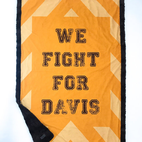 Davis Pride Travel Blanket
