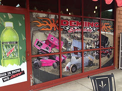 Window Wrap - Deming Speedway - Store Fr