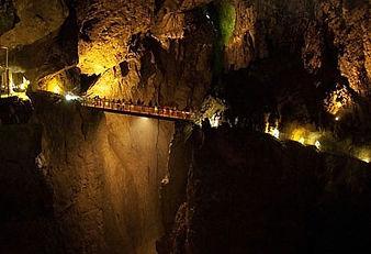Le grotte di San Canziano Babelerrante