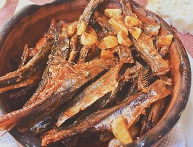Un piatto di Cironki a Stenje