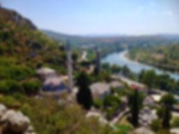 bosnia pociteli erzegovina paesaggio cosa vedere natura moschea minareto