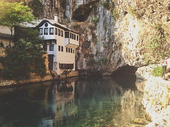 blagaj tekija la casa di dervisci in bosnia