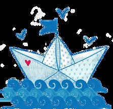 barca di carta lago scutari