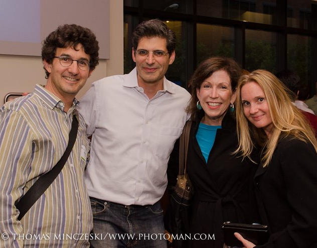 Josh Becker, Founder, Full Circle Fund, Lisa Nash, CEO, Blue Planet Network, and BPN Staff
