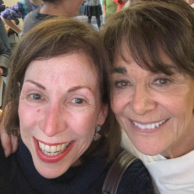 Lisa and Congresswoman Anna Eshoo