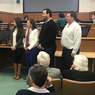 Lisa Being Sworn In For Measure S Oversight Committee