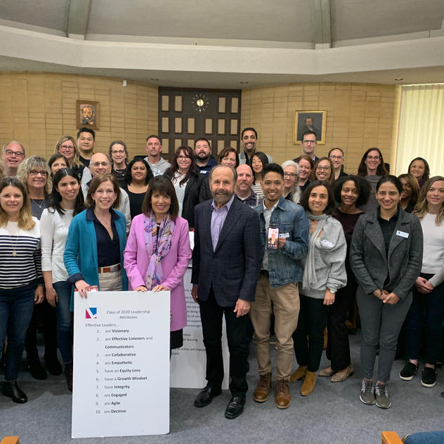 San Mateo Area Chamber of Commerce Leadership Class 2020 with Congresswoman Jackie Speier and State Senator Jerry Hill