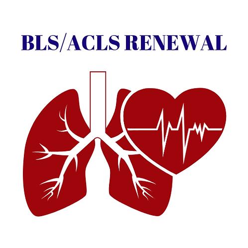 BLS/ACLS Renewal Combo Class