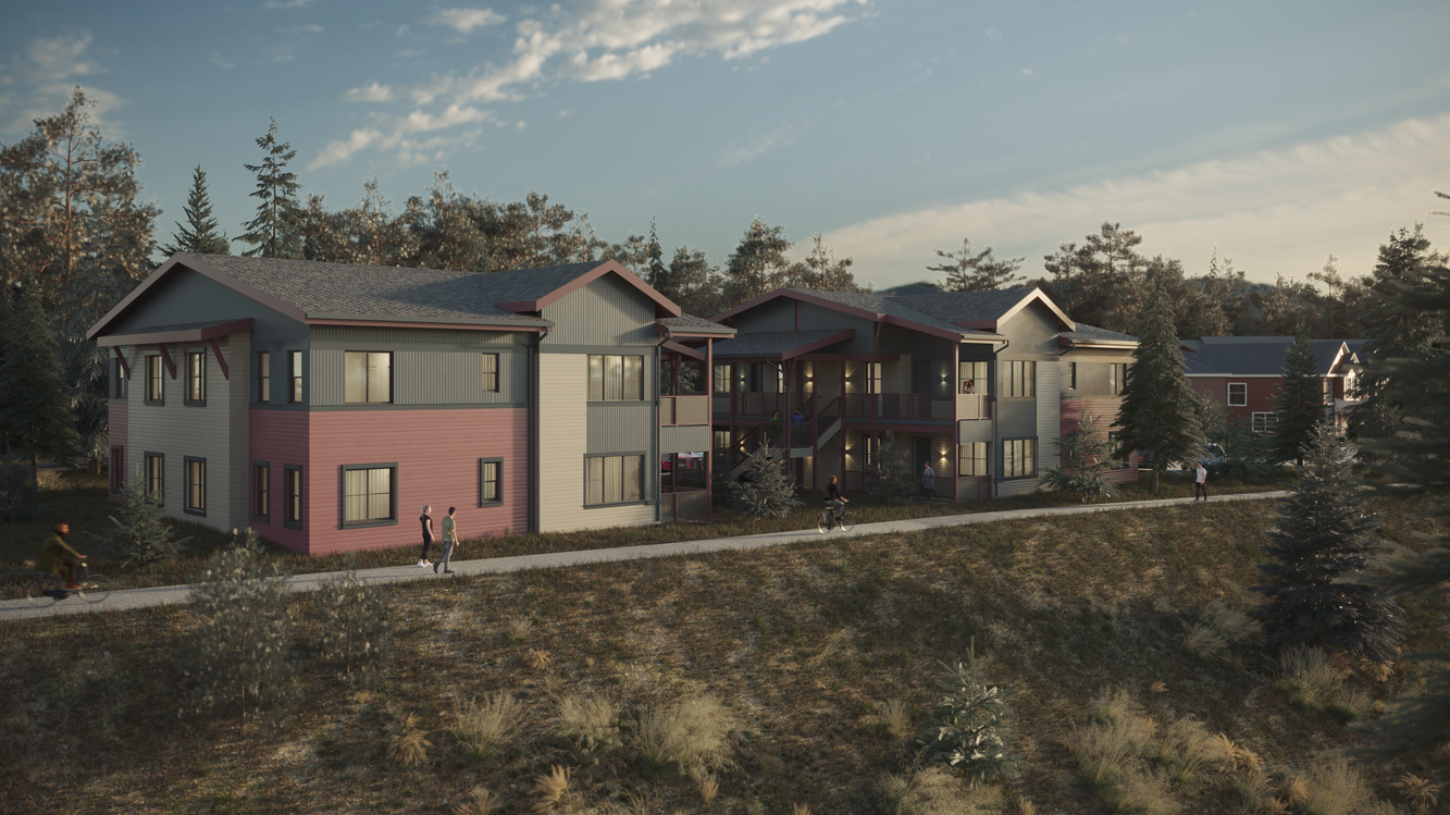 Rue Ivy, Truckee, CA, USA  Visualized project of AO Architects: