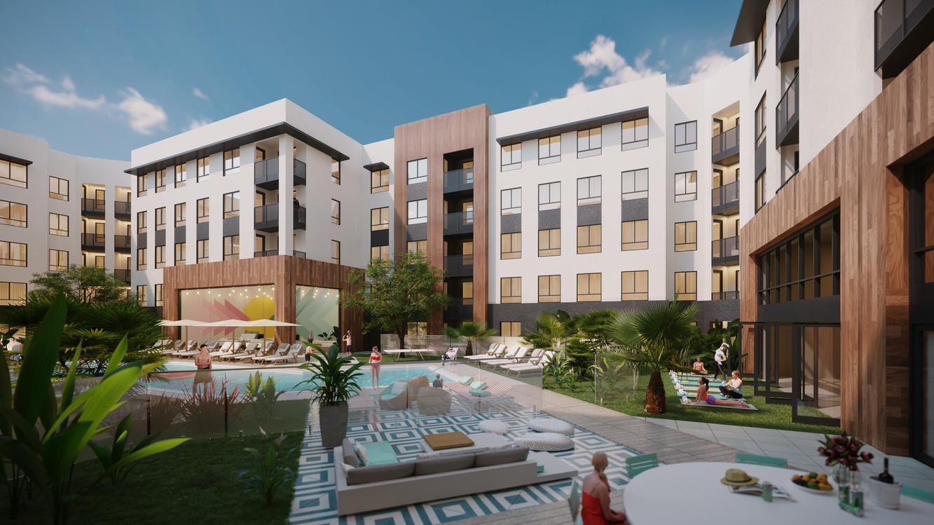 VRV, 12736 Beach Boulevard, Stanton, CA, USA  Visualized project of AO Architects: