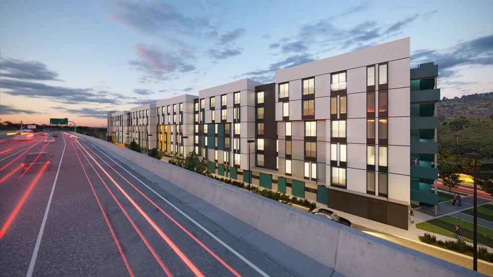 1755 Eastshore Blvd, El Cerrito, CA, USA  Visualized project of AO Architects: