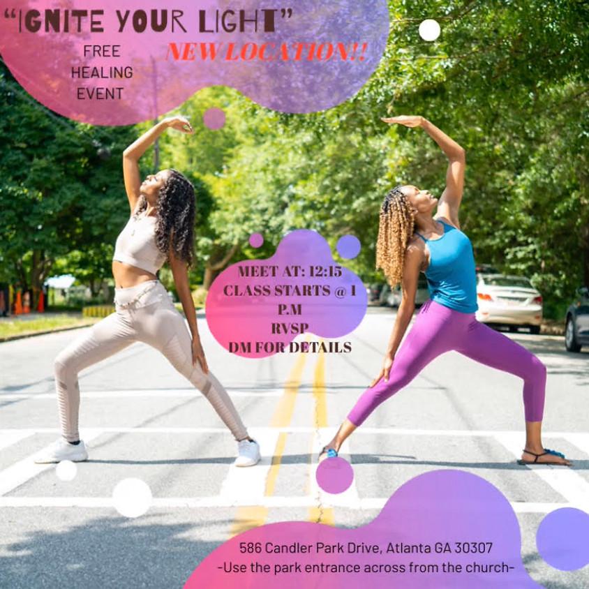 Ignite Your Light Free Yoga 🌟