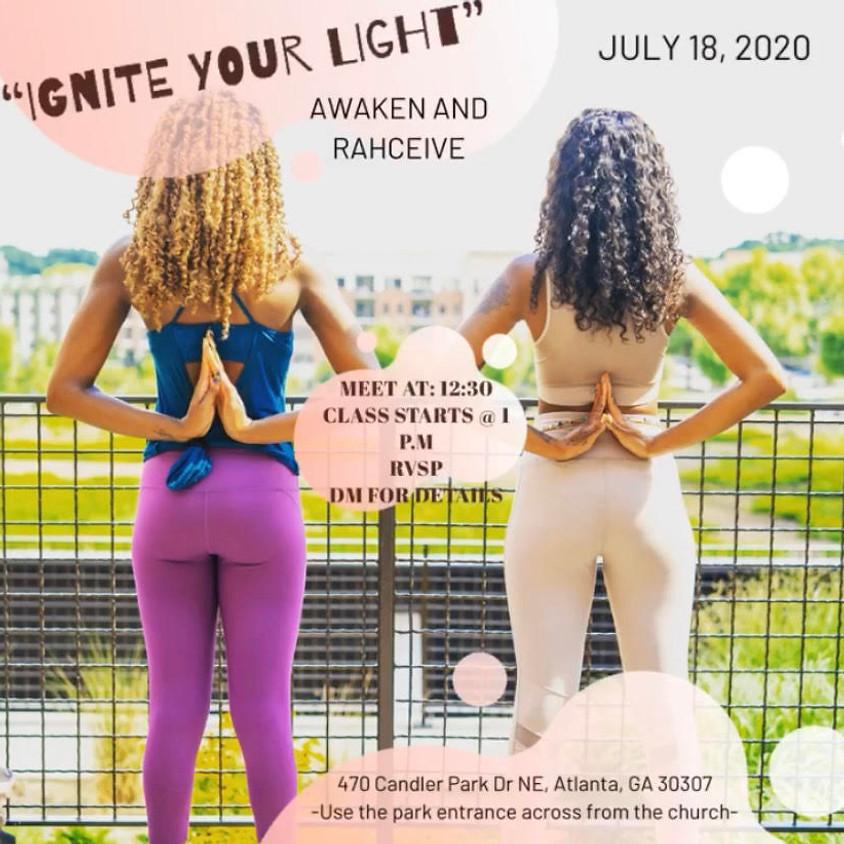 Ignite Your Light Free Yoga 🌟 Awaken & Rahcieve
