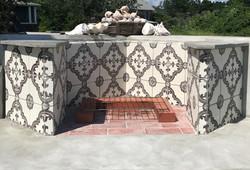 Harbor Beach Fireplace