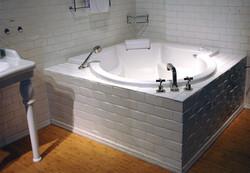 Tub-Bath Crystal White 3 x 6