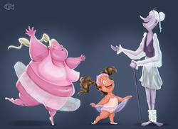 little gurl balerinasmall