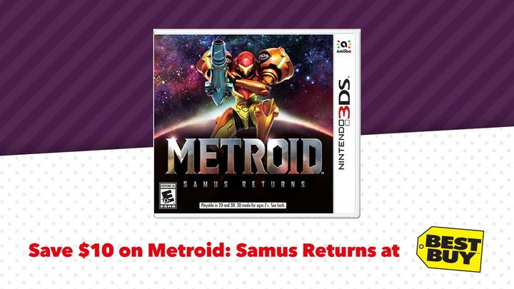 Until January 4th, save $10 on Metroid: Samus Returns!