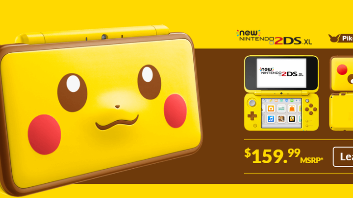 Shocking News: Nintendo Released 2DS Pikachu Edition!