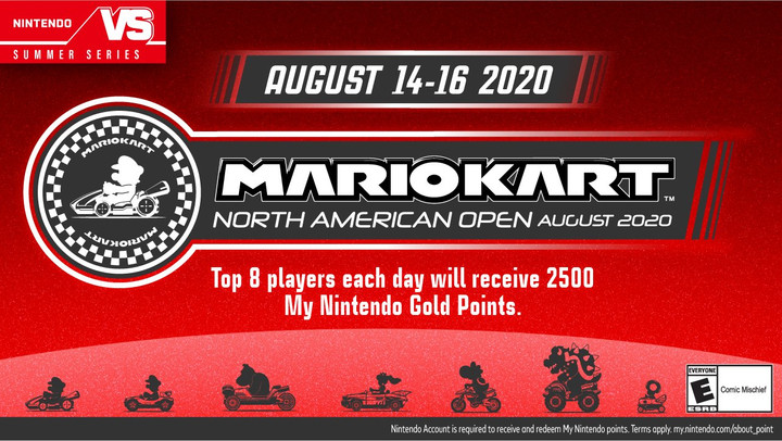 MarioKart NA 2020 Tournament! Starts Tomorrow From 12pm – 6pm PT