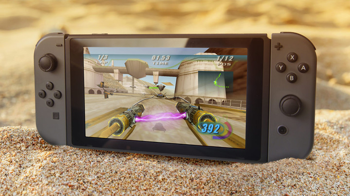 THE CLASSIC STAR WARS EPISODE I RACER COMES TO NINTENDO SWITCH!