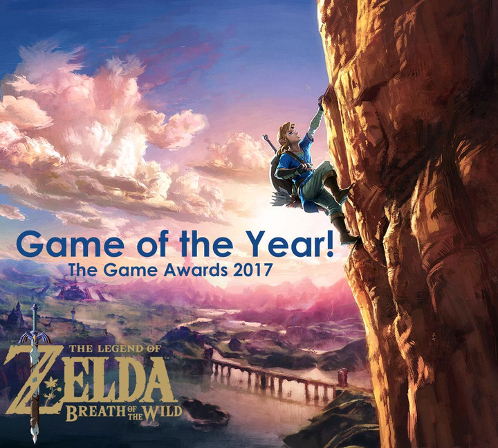 Zelda: Breath of the Wild, won the Best game of 2017 The Game Awards earlier this month!