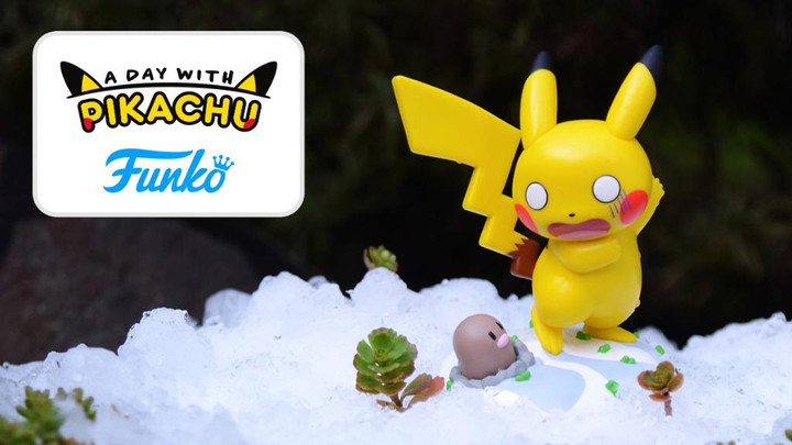'Surprising Weather Ahead' Pikachu Figure from Funko at the Pokémon Center