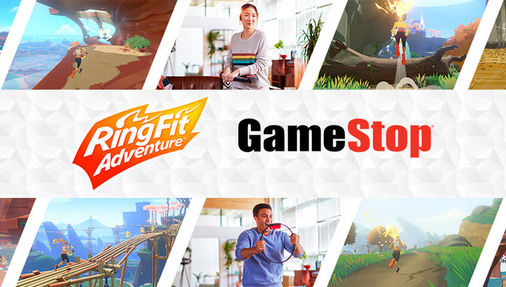 Experience Ring Fit Adventure on 1/25 at select GameStop Stores