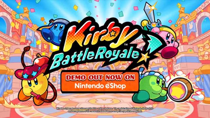 Kirby Battle Royale 3DS eShop DEMO
